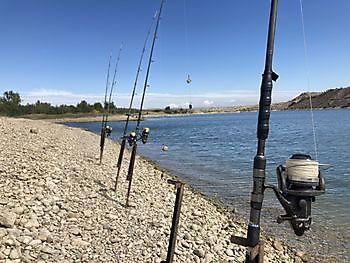fishing rods Ceitón visvakanties off grid huisje huren